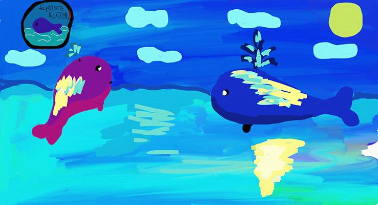 Сазанова Ира_12 лет_ Берегите китов