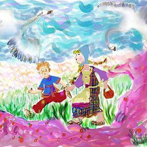Целибеева Соня_ 10 лет_ Гуси-лебеди
