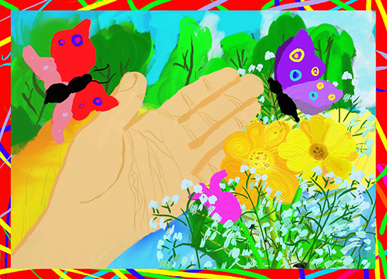 Финохина Полина_10л_Я сберегу цветы в полях