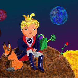 Гусарова Валерия_12лет_Путешественник во Вселенной - Маленький принц