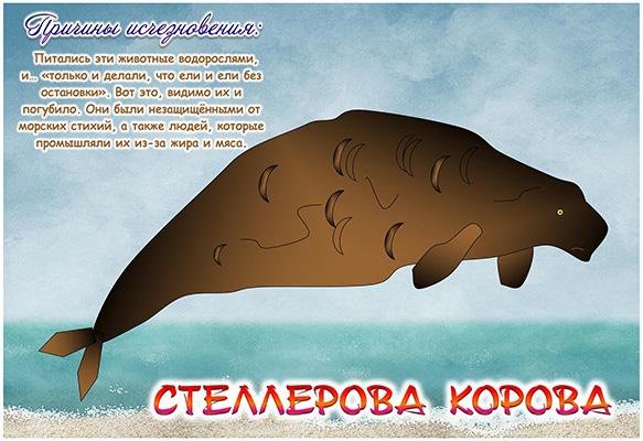 Арчибасов Максим_8 лет_ Стеллерова корова