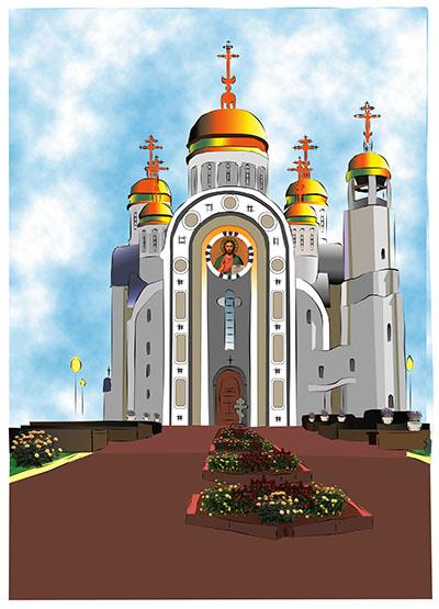Чеботарёва Анна _13 лет_ Магнитогорский храм