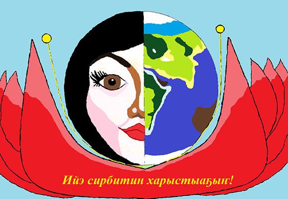 Николаева Юрианна _ 8 лет_ Ийэ сирбитин ...