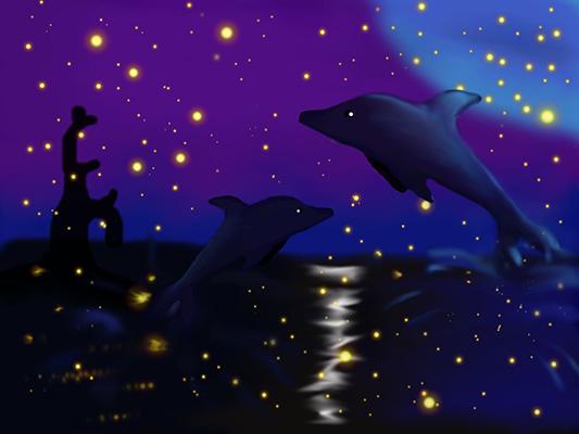 Королева Анна _ 13лет _ Волшебной ночью