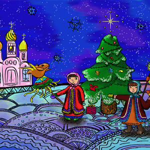 Зотова Александра_15 лет_ Рождество