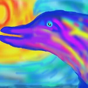 Мухаметдинов Виктор_10 лет_Радужный дельфин