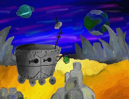 Гуриенкова Катя_12 лет_Исследователи других планет